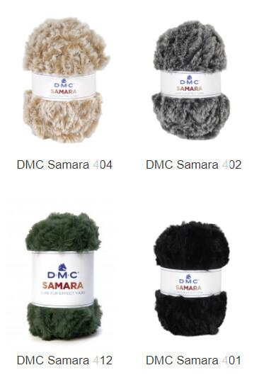 colores samara DMC