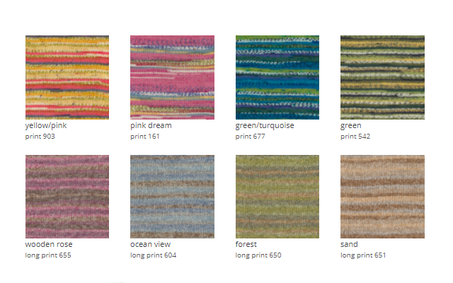 Colorido lana para calcetines Fable DROPS
