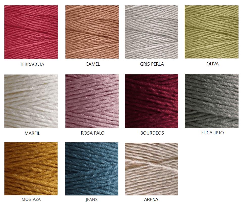 Colores Veggie Wool CASASOL en www.amimu.es