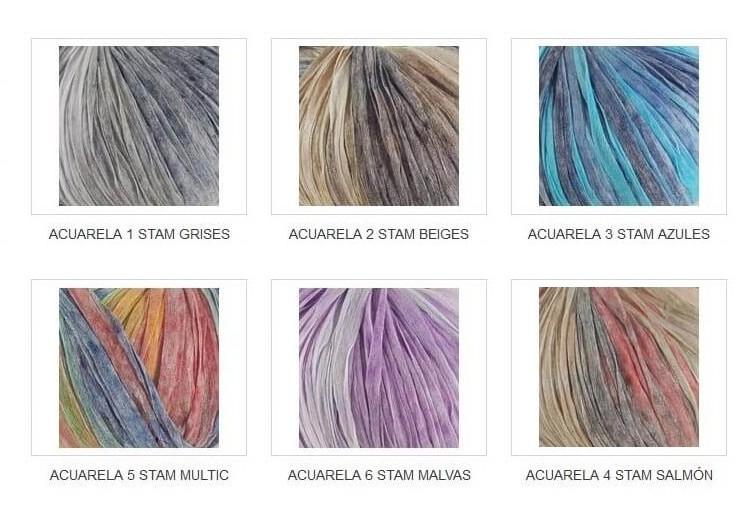 Colorido Acuarela Stamp
