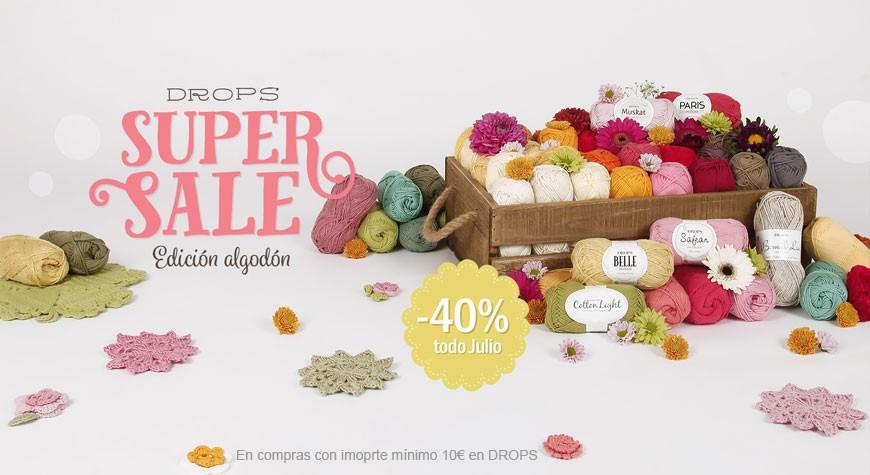 Drops Super Sale Algodón